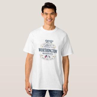 Worthington, Massachusetts 250th Ann White T-Shirt
