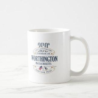 Worthington, Massachusetts 250th Anniversary Mug