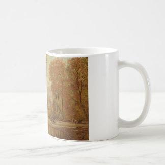 Worthington Whittredge - Autumn on the Delaware Coffee Mug