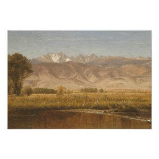 Worthington Whittredge - Foothills Colorado Photo Print
