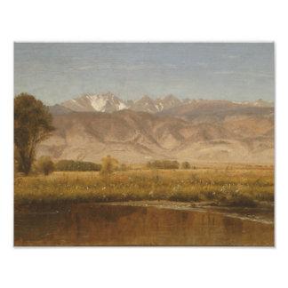 Worthington Whittredge - Foothills Colorado Photograph