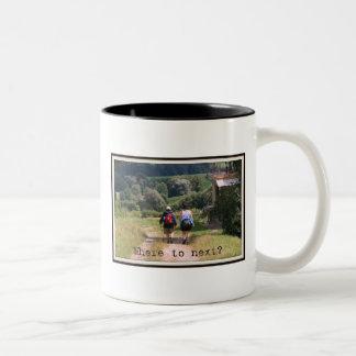 WOTM: Where to Next? Two-Tone Coffee Mug