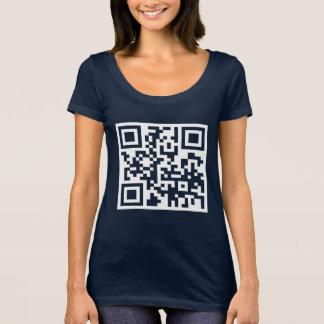 Would you like to dance? QR Code T-Shirt