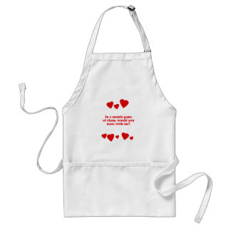 WOULD YOU MATE WITH ME? ADULT APRON