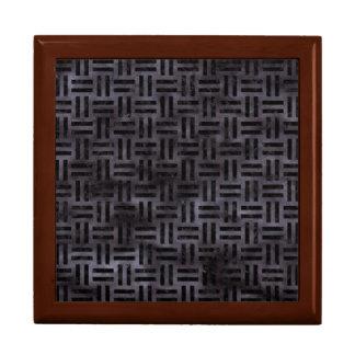 WOVEN1 BLACK MARBLE & BLACK WATERCOLOR (R) GIFT BOX