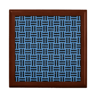 WOVEN1 BLACK MARBLE & BLUE COLORED PENCIL (R) GIFT BOX