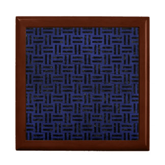 WOVEN1 BLACK MARBLE & BLUE LEATHER (R) GIFT BOX