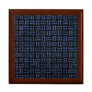WOVEN1 BLACK MARBLE & BLUE STONE GIFT BOX