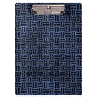 WOVEN1 BLACK MARBLE & BLUE STONE (R) CLIPBOARD