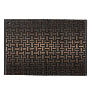 WOVEN1 BLACK MARBLE & BRONZE METAL COVER FOR iPad AIR