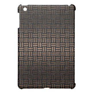 WOVEN1 BLACK MARBLE & BRONZE METAL iPad MINI COVER