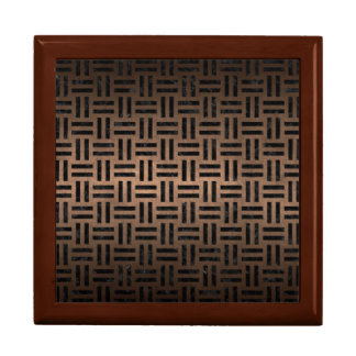 WOVEN1 BLACK MARBLE & BRONZE METAL (R) GIFT BOX