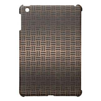 WOVEN1 BLACK MARBLE & BRONZE METAL (R) iPad MINI CASES