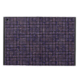 WOVEN1 BLACK MARBLE & PURPLE MARBLE CASE FOR iPad AIR