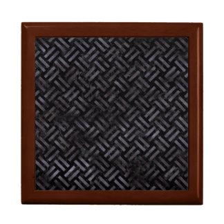 WOVEN2 BLACK MARBLE & BLACK WATERCOLOR GIFT BOX