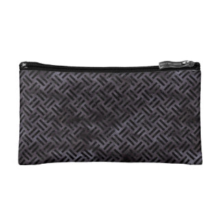 WOVEN2 BLACK MARBLE & BLACK WATERCOLOR (R) COSMETIC BAGS
