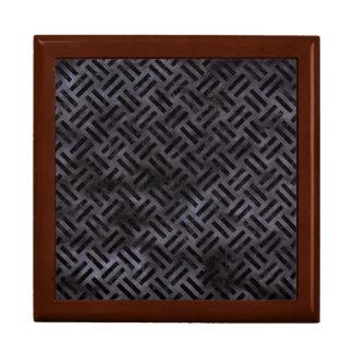 WOVEN2 BLACK MARBLE & BLACK WATERCOLOR (R) GIFT BOX