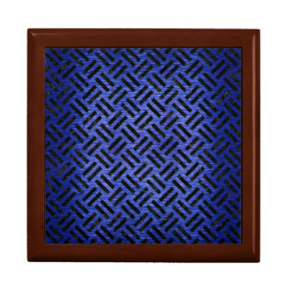 WOVEN2 BLACK MARBLE & BLUE BRUSHED METAL (R) GIFT BOX
