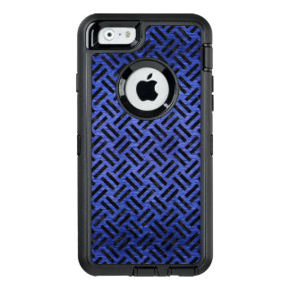WOVEN2 BLACK MARBLE & BLUE BRUSHED METAL (R) OtterBox DEFENDER iPhone CASE