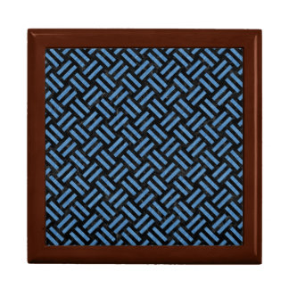 WOVEN2 BLACK MARBLE & BLUE COLORED PENCIL GIFT BOX