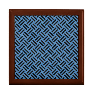 WOVEN2 BLACK MARBLE & BLUE COLORED PENCIL (R) GIFT BOX