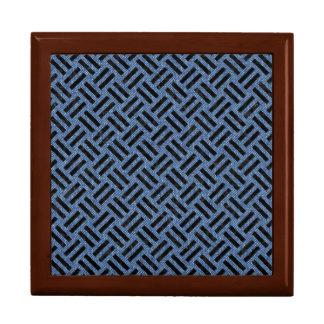 WOVEN2 BLACK MARBLE & BLUE DENIM (R) GIFT BOX