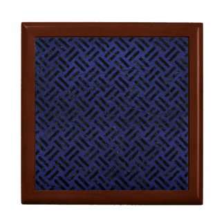 WOVEN2 BLACK MARBLE & BLUE LEATHER (R) GIFT BOX