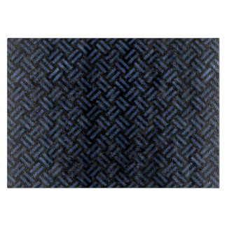 WOVEN2 BLACK MARBLE & BLUE STONE CUTTING BOARD