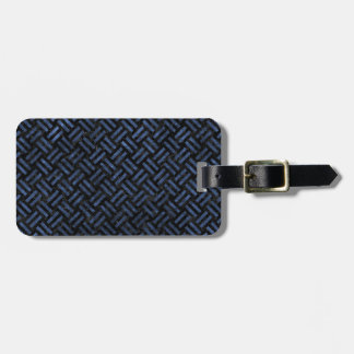 WOVEN2 BLACK MARBLE & BLUE STONE LUGGAGE TAG
