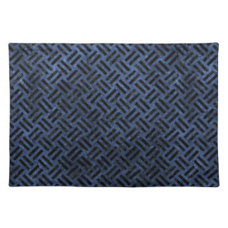WOVEN2 BLACK MARBLE & BLUE STONE (R) PLACEMAT
