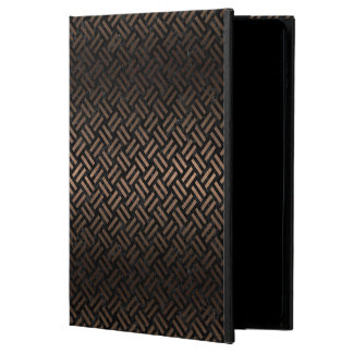 WOVEN2 BLACK MARBLE & BRONZE METAL POWIS iPad AIR 2 CASE