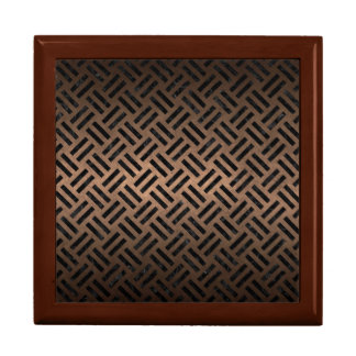 WOVEN2 BLACK MARBLE & BRONZE METAL (R) GIFT BOX