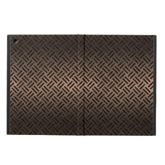 WOVEN2 BLACK MARBLE & BRONZE METAL (R) iPad AIR COVER