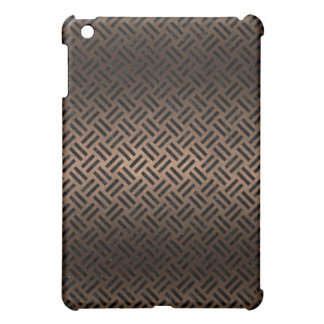 WOVEN2 BLACK MARBLE & BRONZE METAL (R) iPad MINI CASE