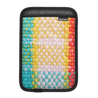 Woven Fabric Print Sleeve For iPad Mini