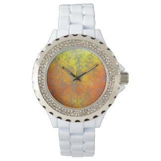 """Woven Harakeke"" - Golden Butterfly Wrist Watches"