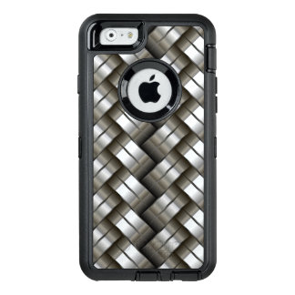 Woven metal pattern OtterBox iPhone 6/6s case