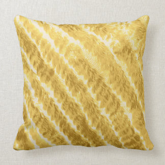 WOVEN MINK PILLOW HONEY
