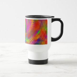 Woven Rainbow Mug