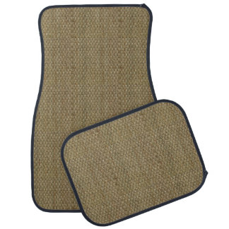 Woven Sea Grass Look Car Mat Set