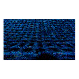 woven structure blue business cards