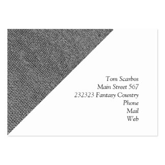 woven structure metal silver business card templates
