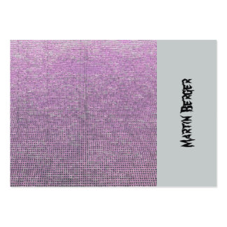 woven structure pink pack of chubby business cards