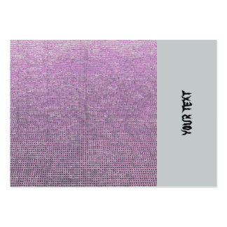 woven structure pink large business cards (Pack of 100)