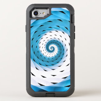 Woven Swirly Pattern OtterBox Defender iPhone 8/7 Case