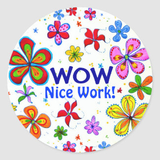 Wow! Classroom Sticker