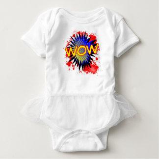 Wow Comic Exclamation Baby Bodysuit
