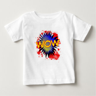 Wow Comic Exclamation Baby T-Shirt