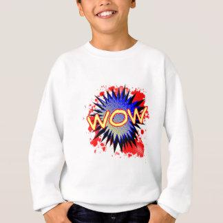 Wow Comic Exclamation Sweatshirt