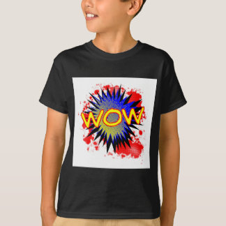 Wow Comic Exclamation T-Shirt